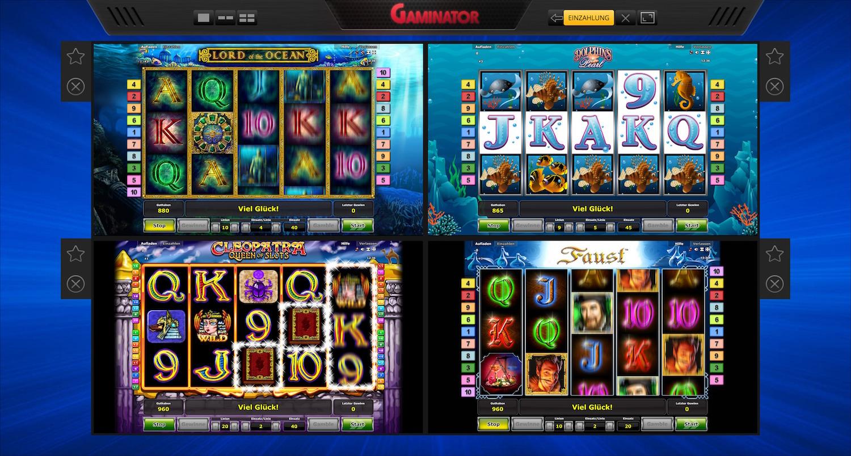Supergaminator Gutschein und Bonus Code für das Novomatic Casino